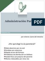 Seminario Adm Parenteral 2013