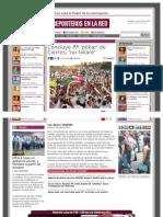 01-07-2013 Concluye PP 'pókar' de Cierres; 'no fallaré'
