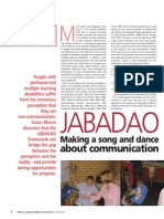 JABADAO – Making a song and dance about communication.