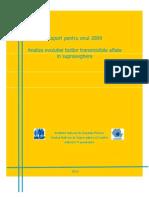 Raport Boli Transmisibile Romania 2009