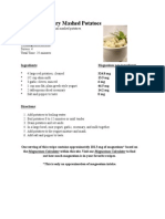 Yogurt Rosemary Mashed Potatoes