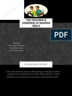 The Teaching and accessing in reading