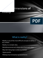 Multiple Dimensions of Reality