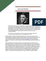 Emerson the Platonist