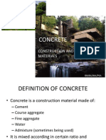 Concrete process