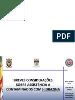 HIDRAZINA_PRIMEIROS_SOCORROS