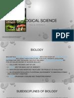 Biological Science PBD
