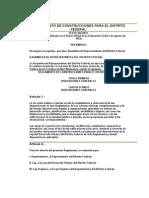 Reglamento de Construcciones para el Distrito Federal - con Transitorios.doc