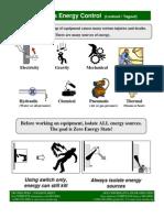 Control de Energía Peligrosa