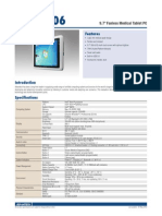 9.7'' Fanless Medical Tablet PC