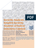 Security Analysis_Godrej Industries