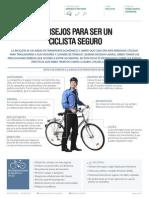 Consejos Para Ser Un Ciclista Seguro