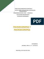 Macroenomia y Microeconomia