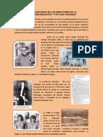 Historia de Los Directores Del Tcy