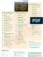 Brochure and Schedule