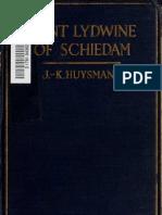 J.K. Huysmans - St. Lydwine of Schiedam