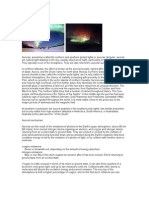Aurora Northern Lights Info