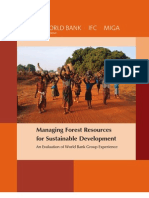 Managing Forest Resources for Sustainable Development