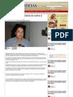 "01-07-2013 Ex panista Alvaro Garza se suma a ""Pepe Elías"""