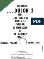 El Modulor 2 Por Le Corbusier