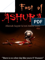 The Fast of Ashura - Allamah Sayyid Saeed Akhtar Rizvi - XKP