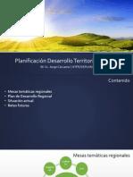 Planificación Desarrollo Territorial