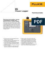 FLUKE 1735 Power Logger Technical Data