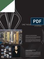 One Thousand Museum Miami condos brochure