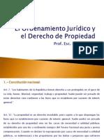 El Ordenamiento Jurídico y el Derecho de Propiedad Molla