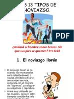 Los 13 Tipos de Noviazgo