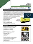 Vegetable Oil Generator Specs - 220 KW