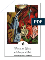 Poesie per Giorni Di Pioggia e Sole di Edmond Jabes