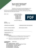 FH Workshop Meeting Minutes - 2013-06-12