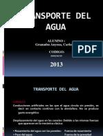 Transporte Del Agua