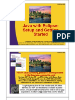 Java With Eclipse - Setup and Getting Started