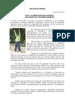 01/07/13 Germán Tenorio Vasconcelos EJERCICIO Y ALIMENTACIÓN BALANCEADA REDUCEN RIESGO DE CONTRAER DIABETES