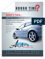 Auto Couriers Flyer