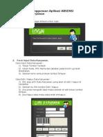 113030815 Penggunaan Aplikasi ABSENSI Karyawan