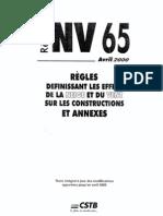 Règles NV65