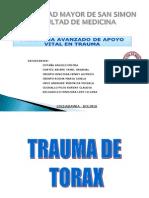 ATLS Trauma Toraxico