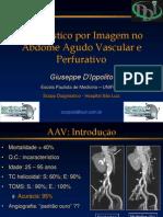 Diagnostico Por Imagem No Abdome Agudo Vascular e Perfurativo