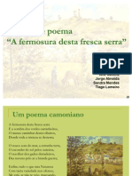 51487998 Analise Do Poema a Fermosura Desta Fresca Serra