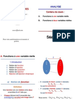 la Fonction a (Un & Deux) Variables Réelles