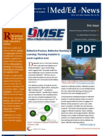 UA OMSE Med/Ed eNews v1 No. 09 (JUN 2013)
