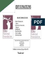 ENF Donation