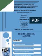 DEONTOLOGÍA DEL AUDITOR_EXPOSICIÓN