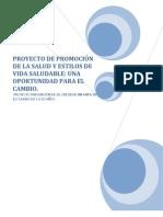 PROYECTO PREVENCIÓN DE LA OBESIDAD INFANTIL