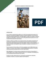 Curso de Derechos Humanos en Operaciones de Paz