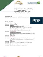 The Fifth Bridges International Faculty Workshop(1)