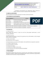 PS.8.5.2.DGQ -  AÇÃO CORRETIVA E PREVENTIVA